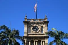 Honolulu - orologio della torre Immagine Stock Libera da Diritti