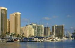 Honolulu - port Photos libres de droits
