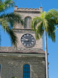 Honolulu's oldest Christian church. Stock Image