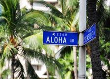 Honolulu. Sunny day to Honolulu, Hawaii Stock Image