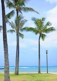Honolulu. Sunny day to Honolulu, Hawaii Stock Photos