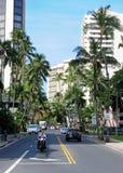 Honolulu. Sunny day to Honolulu, Hawaii Royalty Free Stock Photos