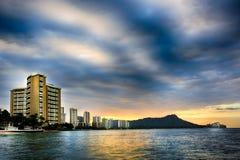 Honolulu Sunrise Royalty Free Stock Image