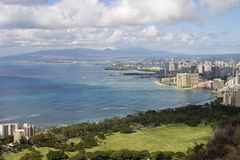 Honolulu u. Waikiki Lizenzfreie Stockfotos