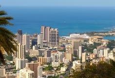 Honolulu vibrant photo stock