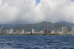 Honolulu view Royalty Free Stock Photography