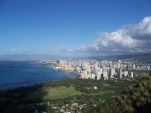 Honolulu view Stock Image