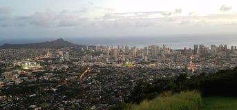 Honolulu Waikiki Royalty Free Stock Photography