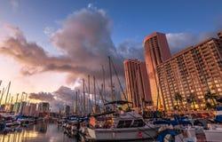 Free Honolulu Waterfront Oahu Royalty Free Stock Photo - 76990605