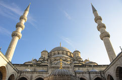 Honom ny moské i Ä°stanbul Royaltyfria Bilder