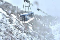 honom Tateyama Kurobe alpina Route Arkivfoton