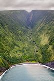 Honopue Valley, Big Island, Hawaii Royalty Free Stock Photos