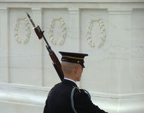 Honor. Tomb of the unknown soldier, Washington, DC stock photos