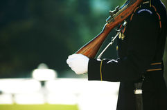 Honor guard. The Honor Guard at Arlington National Cemetery royalty free stock photography