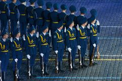 Honor Guard Armed Forces of the Republic of Belarus Royalty Free Stock Photos