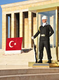 Honor Guard at Ataturk Mausoleum, Ankara Stock Image