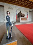 Honor Guard in Chiang Kai-shek Memorial Hall Royalty Free Stock Photography