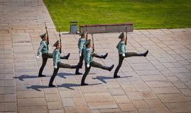Honor guard, Mamayev Kurgan. Mamayev Kurgan is the largest complex in the world dedicated to the great Patriotic War. The hill is located in the center of stock photos