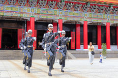 Honor guard of martyrs' shrine Royalty Free Stock Image