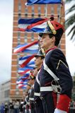 Honor Guard at Montevideo Stock Images