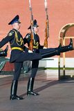 Honor guard, Moscow. Stock Photos