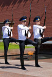 Honor guard, Moscow. Stock Image