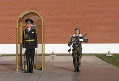 Honor guard. Moscow. Stock Photos