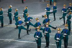 Honor guard of the Presidentia Royalty Free Stock Image