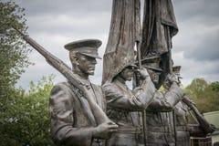 Honor Guard Sculpture Stock Image