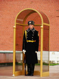 Honor Guard at Tomb of the Unknown Soldier, Moscow, Russia Royalty Free Stock Photography