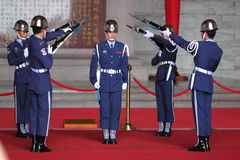 Honor Guards changing shift Royalty Free Stock Photos