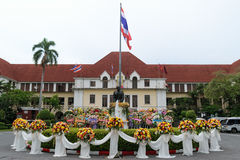 Honor the previous commander State Railway of Thailand Royalty Free Stock Photo