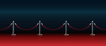 Honorable path for award ceremonies vector illustration