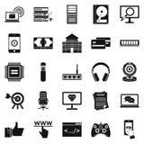 Honorarium icons set, simple style. Honorarium icons set. Simple set of 25 honorarium vector icons for web isolated on white background Stock Photo