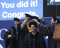 An Honorary Doctoral Degree Bestowed at NAU. FLAGSTAFF, ARIZONA, MAY 13. Northern Arizona University on May 13, 2016, in Flagstaff, Arizona. An Honorary Doctoral Stock Image