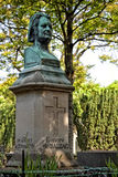 Honore de Balzac, monument in the cemetery Pere Lachaise, Paris Stock Photos