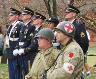 Honorez nos vétérans Image stock
