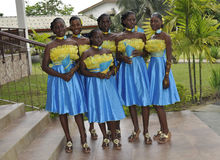 HONORS AFRICAN GIRLS Stock Photography