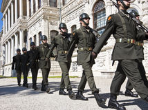honoru strażowy turkish Zdjęcie Stock