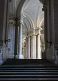 The honour Grand Staircase, Caserta Royalty Free Stock Photos