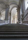 The honour Grand Staircase, Caserta Stock Images