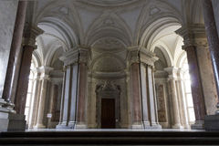 The honour Grand Staircase, Caserta Royalty Free Stock Photography