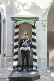 Honour guard in Lisbon, Portugal Royalty Free Stock Photo