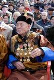 Honourable veteran Royalty Free Stock Photography
