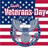 Honrando tudo que serviu Dia de veteranos A caligrafia da tendência Ilustração do vetor no fundo branco Coração no formulário ilustração royalty free