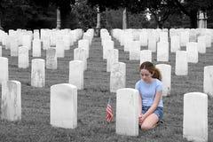 Honrar el SC caido Imagen de archivo libre de regalías