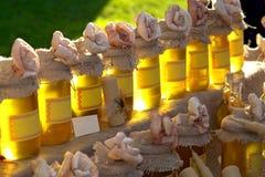 honung Arkivfoton