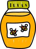 honung Arkivbild
