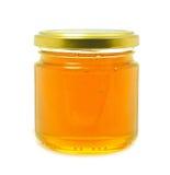 Honung i en Jar Arkivbilder