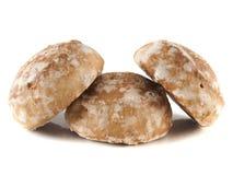 Honung-kakor på (ny) vit bakgrund. Royaltyfri Bild